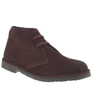 schuh Burgundy Nifty Boots