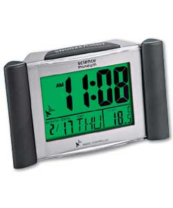 Science Museum Radio Controlled LCD Alarm Clock
