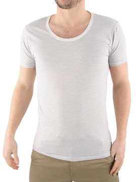 Scotch & Soda Scotch and Soda Navy Scoop Neck T-Shirt product image