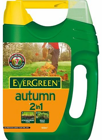 Scotts Miracle-Gro Evergreen Autumn 100 Sq M Lawn Food Spreader