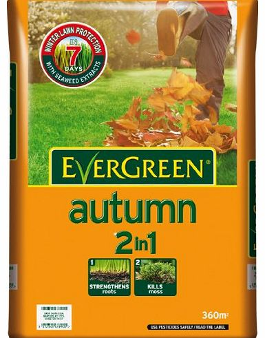 Scotts Miracle-Gro Evergreen Autumn 360 sq m Lawn Food Bag