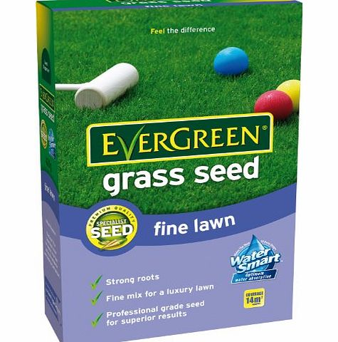 Scotts Miracle-Gro EverGreen Fine Lawn Grass Seed 14 sq m Carton