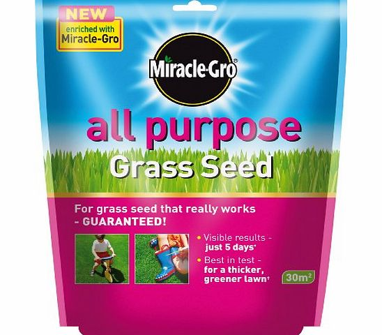 Scotts Miracle-Gro Miracle-Gro All Purpose Grass Seed 30 sq m Bag