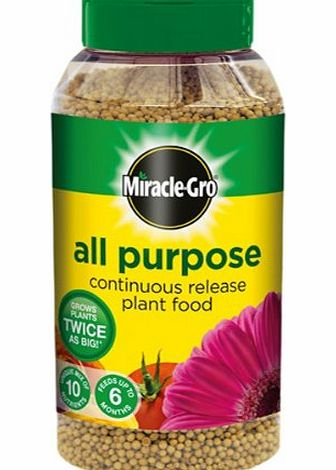 Scotts Miracle-Gro Miracle-Gro Continuous Release All Purpose Plant Food 1 kg Shaker Jar