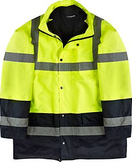 Screwfix, 1228[^]87358 Hi-Vis Jacket Yellow X Large 55`` Chest 87358