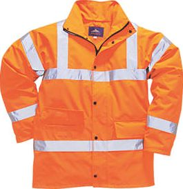 Screwfix, 1228[^]44336 Hi-Vis Traffic Jacket Orange XX Large 50-52``