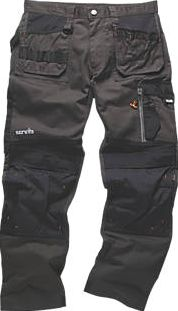 Scruffs, 1228[^]8163F 3D Trade Trousers Graphite 32`` W 31`` L