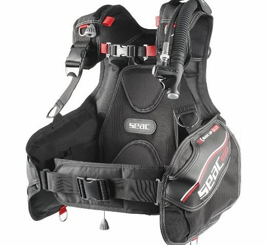 SEAC  Ego Diving BCD - Red/Black, Large product image