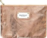Seafolly, 1295[^]276794 Carried Away All That Glitters Clutch - Rose Gold