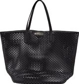 Seafolly, 1295[^]276792 Carried Away Double Dot Tote - Black