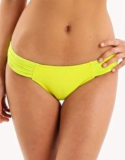 Seafolly, 1295[^]205349 Goddess Pleated Hipster - Chartreuse