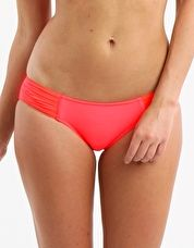 Seafolly, 1295[^]225806 Goddess Pleated Hipster - Red Hot