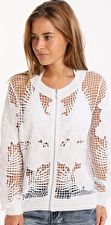 Seafolly, 1295[^]253402 Hope Springs Jacket - White