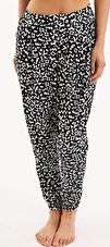 Seafolly, 1295[^]253475 Pixel Olivia Pant - Black and White