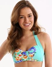 Seafolly, 1295[^]237934 Romeo Rose Soft Cup Halter - Peppermint