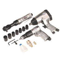 Sealey Air Tool Kit 3pc with Accessories product image