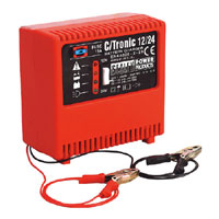 Sealey Battery Charger Electronic 6Amp 12/24V 240V