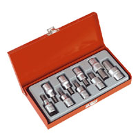 Sealey Hex Key Socket Set 9pc 1/2andquotSq Drive product image