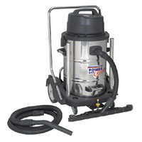 Sealey Industrial Wet and Dry Vacuum Cleaner 77L product image