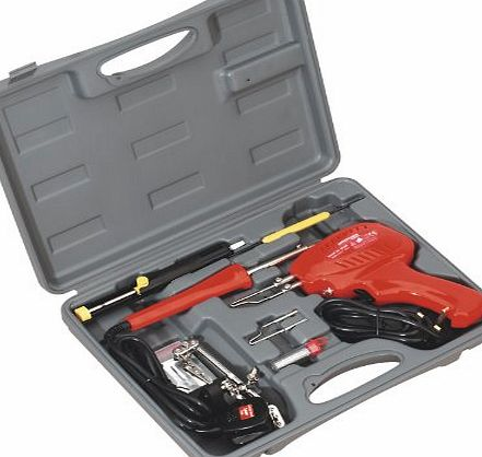 sealey sd300k soldering gun iron kit 8pc 230v review compare prices buy o. Black Bedroom Furniture Sets. Home Design Ideas