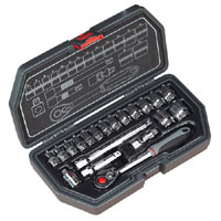 Sealey Socket Set 20pc 3/8andquotSq Drive Metric product image