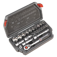 Sealey Socket Set 23pc 1/2andquotSq Drive Metric product image