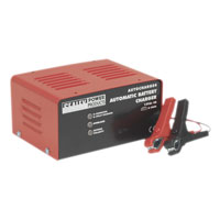 Sealey Tools Battery Charger Electronic 4Amp 12V 230V