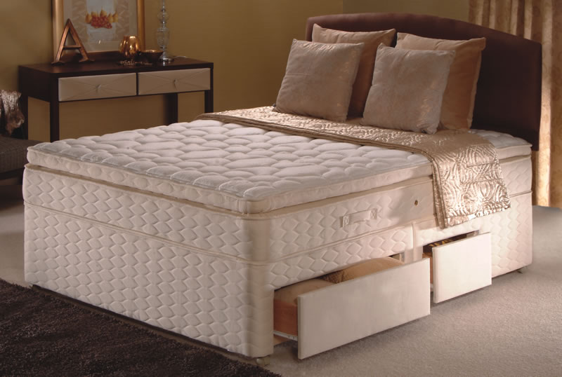 Sealy king size beds for King size divan set