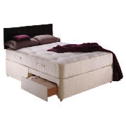 Classic Ortho Deluxe Single 2 Drawer Divan