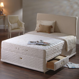 Sealy posturepedic ultra luxe bed for 6 foot divan
