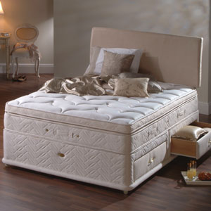 Sealy enchantment 6ft zip and link divan bed review compare prices buy online Zip and link divan beds