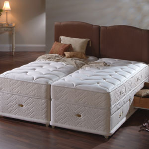 Sealy millionaire 6ft zip and link divan bed review for 6 foot divan