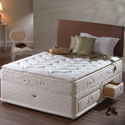 Sealy Pillow Luxury Kingsize Divan Bed Review Compare Prices Buy Online