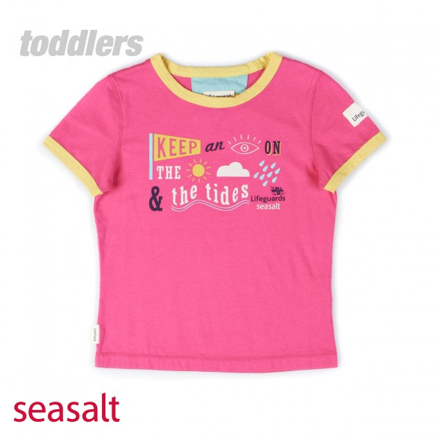 Seasalt Girls Seasalt Sandy T-Shirt - Bubblegum product image