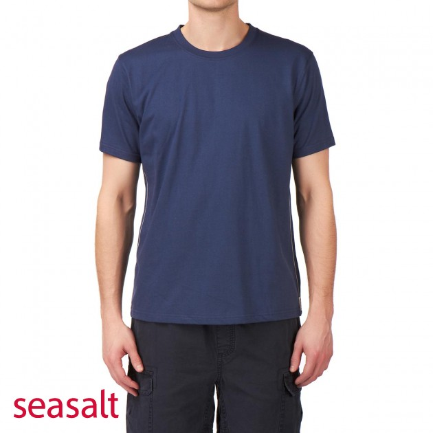 Seasalt Mens Seasalt Invincible T-Shirt - French Navy product image
