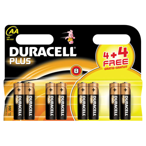 Duracell AA Battery Pack of 8
