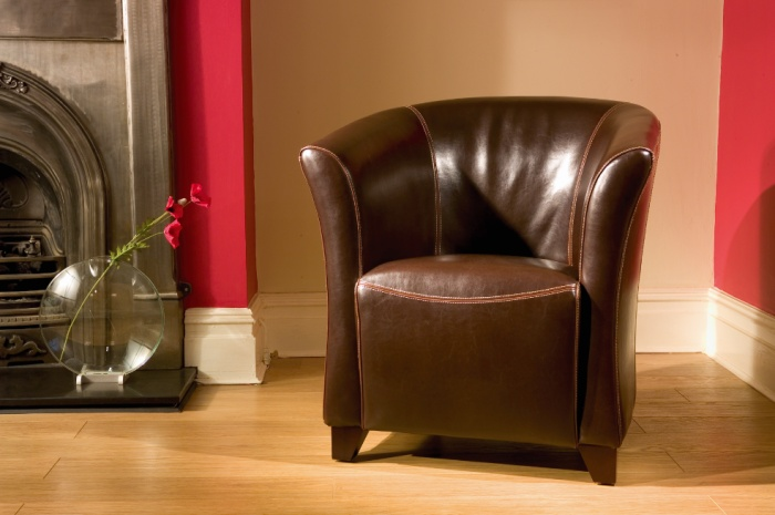 leather tub chair red : seattle leather tub chair dark brown leather from www.comparestoreprices.co.uk size 700 x 465 jpeg 87kB