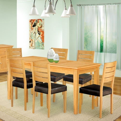 Seattle oak tables and chairs