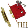 Securit 75mm 5 Lever Brass Sash Lock product image