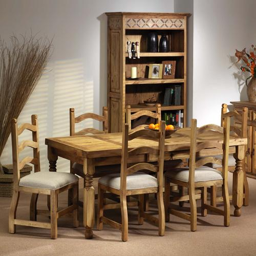Segusino Mexican Dining Set (170cm Table 6 Chairs)