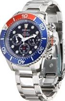 Seiko, 1192[^]202714 Mens Divers Solar Chronograph Watch - Stainless