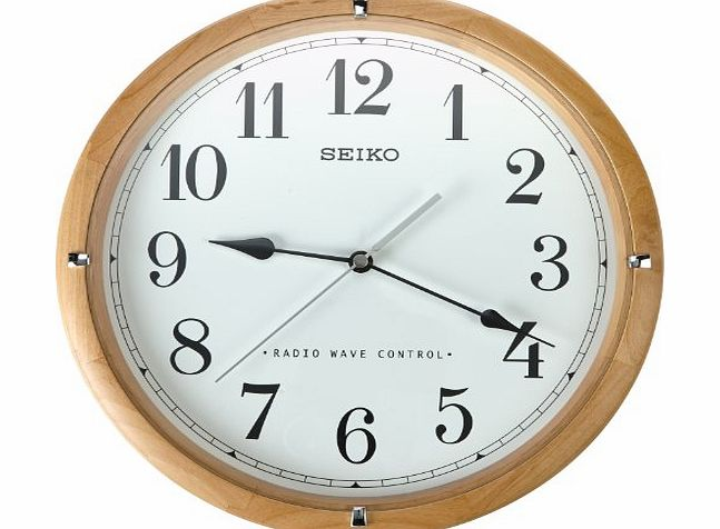 Seiko Qxr303z Radio Controlled Wooden Wall Clock Review