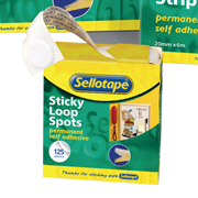 Sellotape Self Adhesive Sticky Loop Spots product image