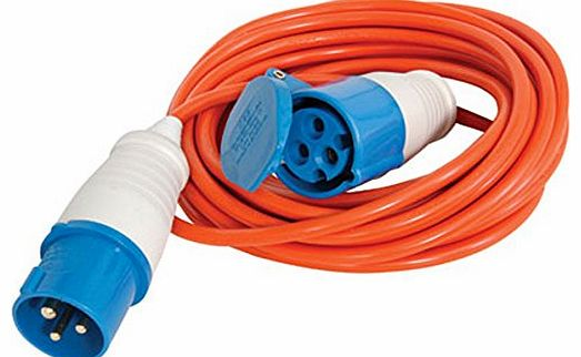 Wind Up Extension Lead : Power camping equipment