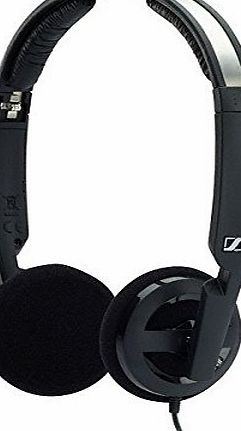 Sennheiser PX 100-II Foldable Open Mini On-Ear Headphone - Black