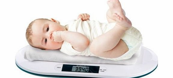 Sentik Digital Baby Weighing Scale with On/Off/TARE button Max 20Kg product image