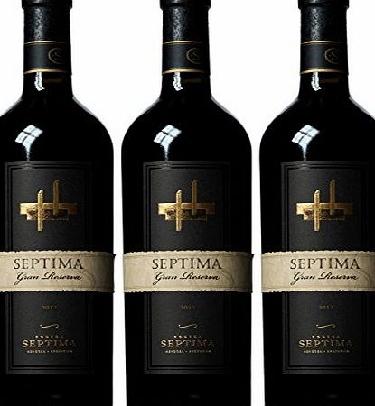 Septima Gran Reserva Wine 2012 75 cl (Case of 3)