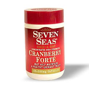 Seven Seas Cranberry Forte Capsules Triple Pack