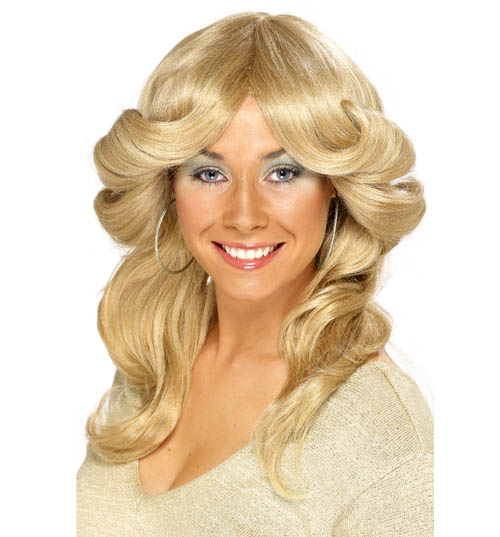 Seventies Blonde Flick Wig product image