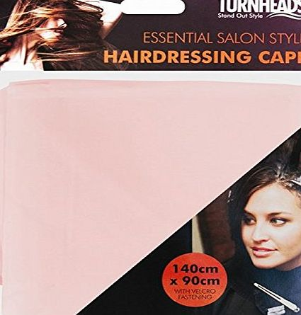 sf-world PINK BARBERS HAIR CUT/CUTTING HAIRDRESSING HAIRDRESSERS UNISEX SALON BARBER GOWN CAPE
